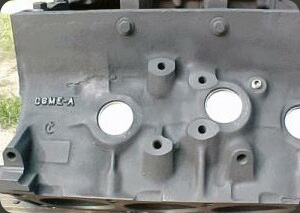 Fe Block on Ford Cylinder Head Casting Numbers