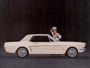 1964 1 2 Mustang Ads