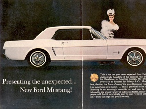 1964 5 Mustangs: Information & Why It's Called a 1964 1/2 Mustang?