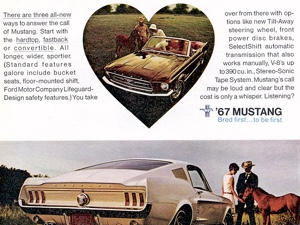 1967 Mustangs: Coupes, GT350, GT500 Mustang Shelbys & More